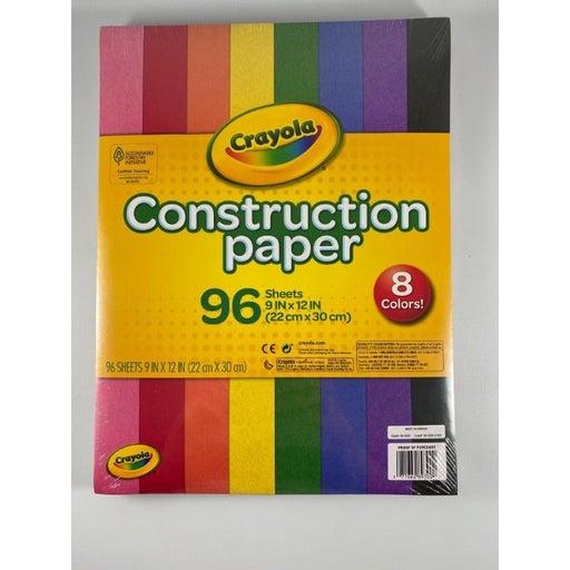 Crayola Construction Paper, 96 Sheets