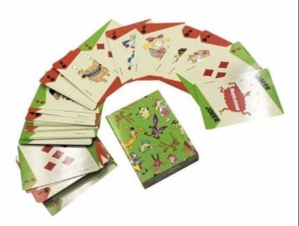 Nick playing cards