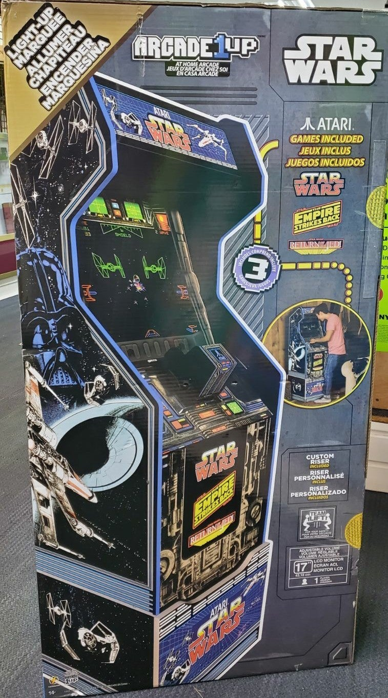 Atari Star Wars at Home Arcade