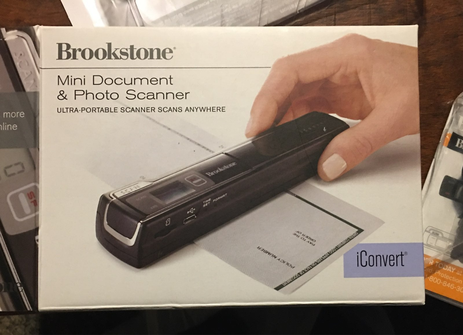 Portable Document & Photo Scanner