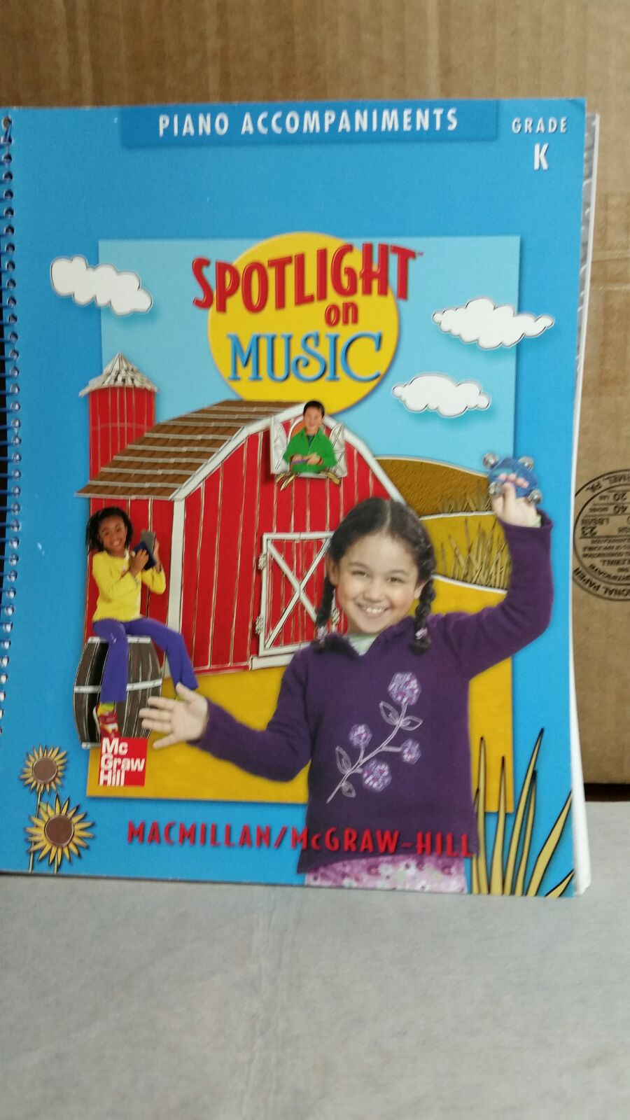 SPOTLIGHT ON MUSIC TEACHING BOOK