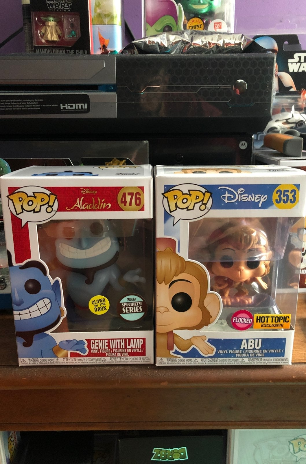 Funko pop disney aladdin lot
