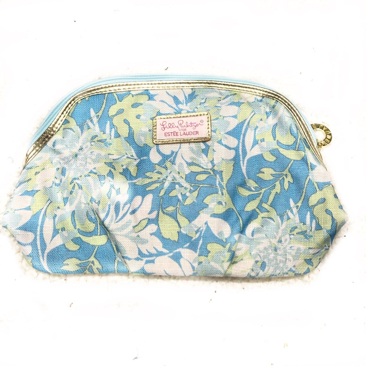 Estee Lauder Lilly Pulitzer Cosmetic Bag