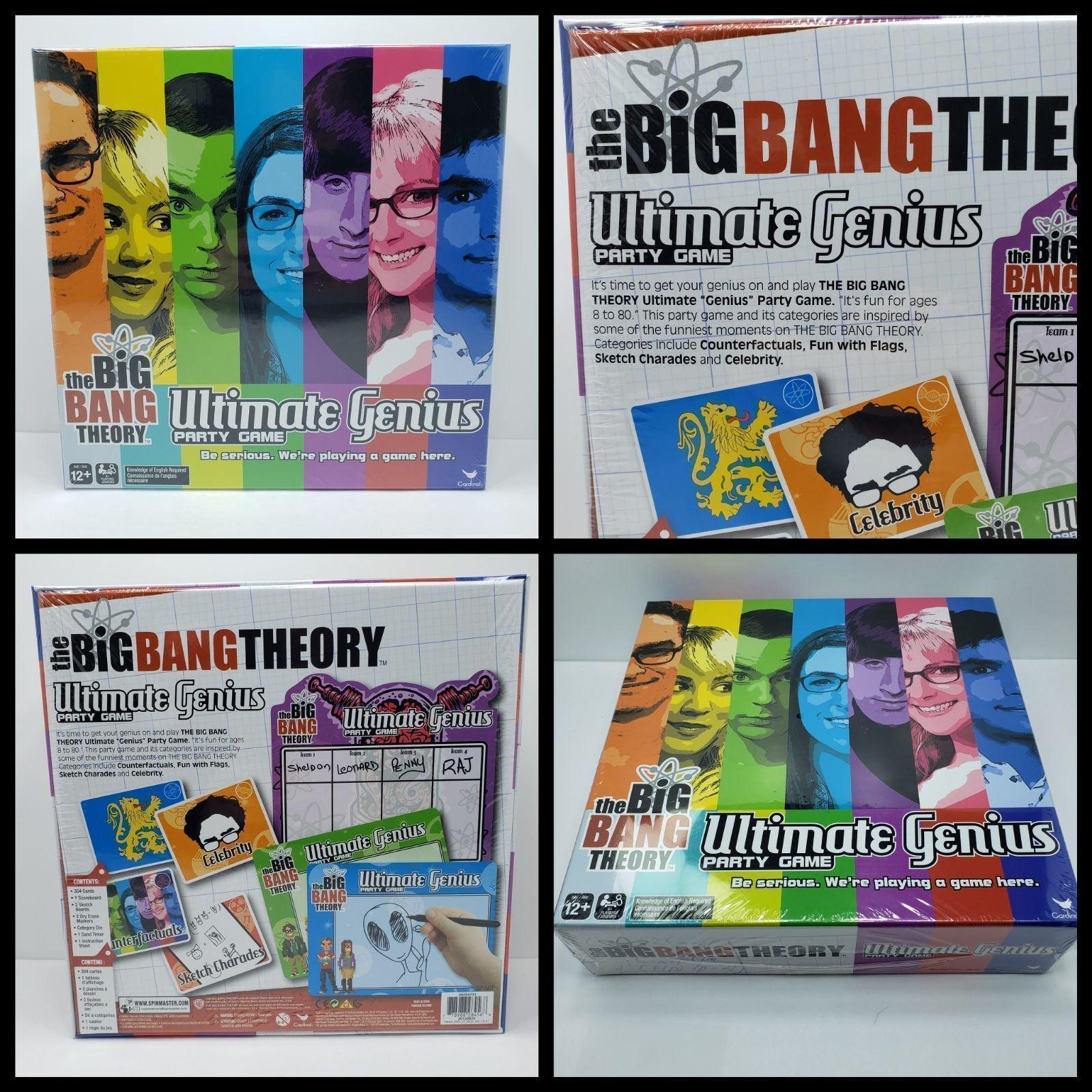 New, Big bang theory game