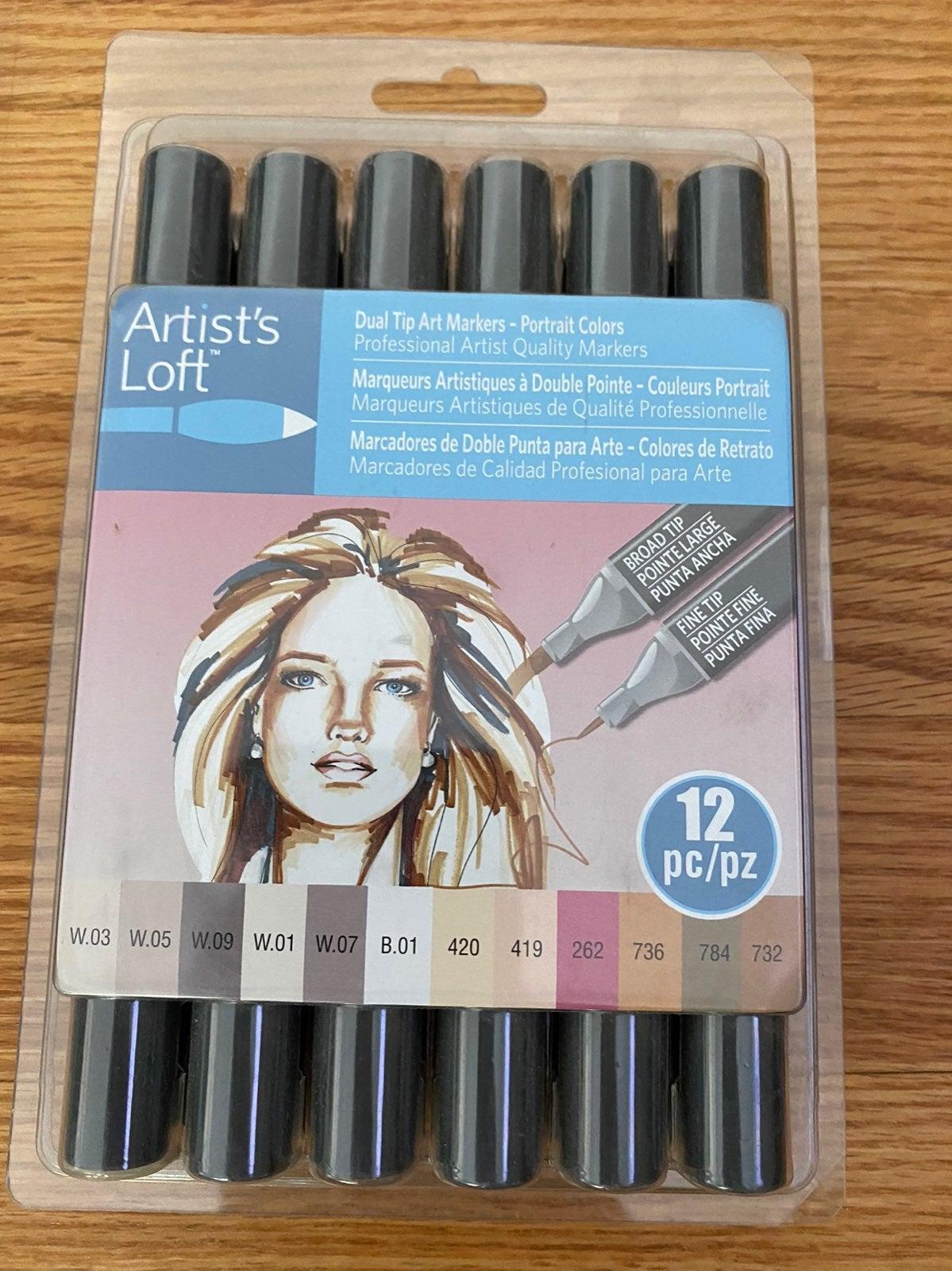 Duel tip art markers