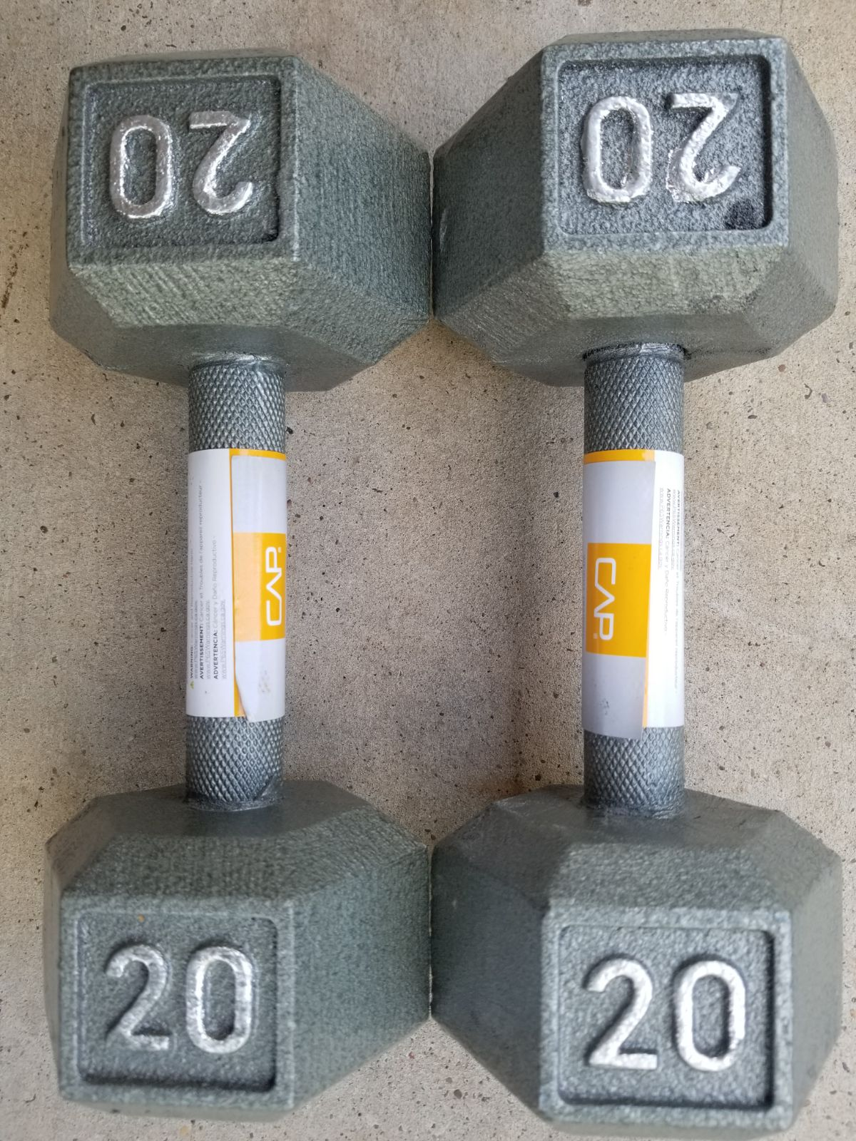 20lb Dumbbell Set