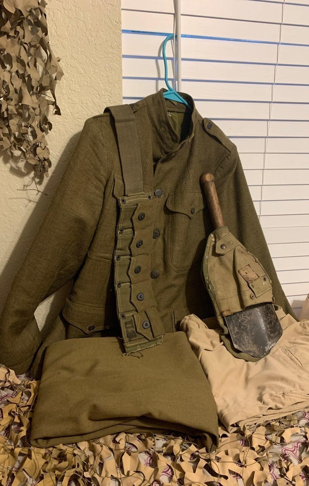 Vintage Army Uniform &Gear(NO TROUSERS)