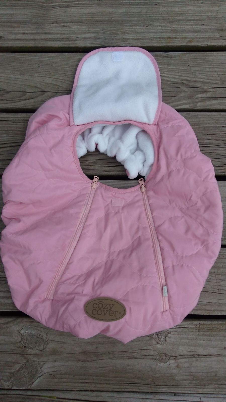 Cozy Cover Carseat Rose Pink