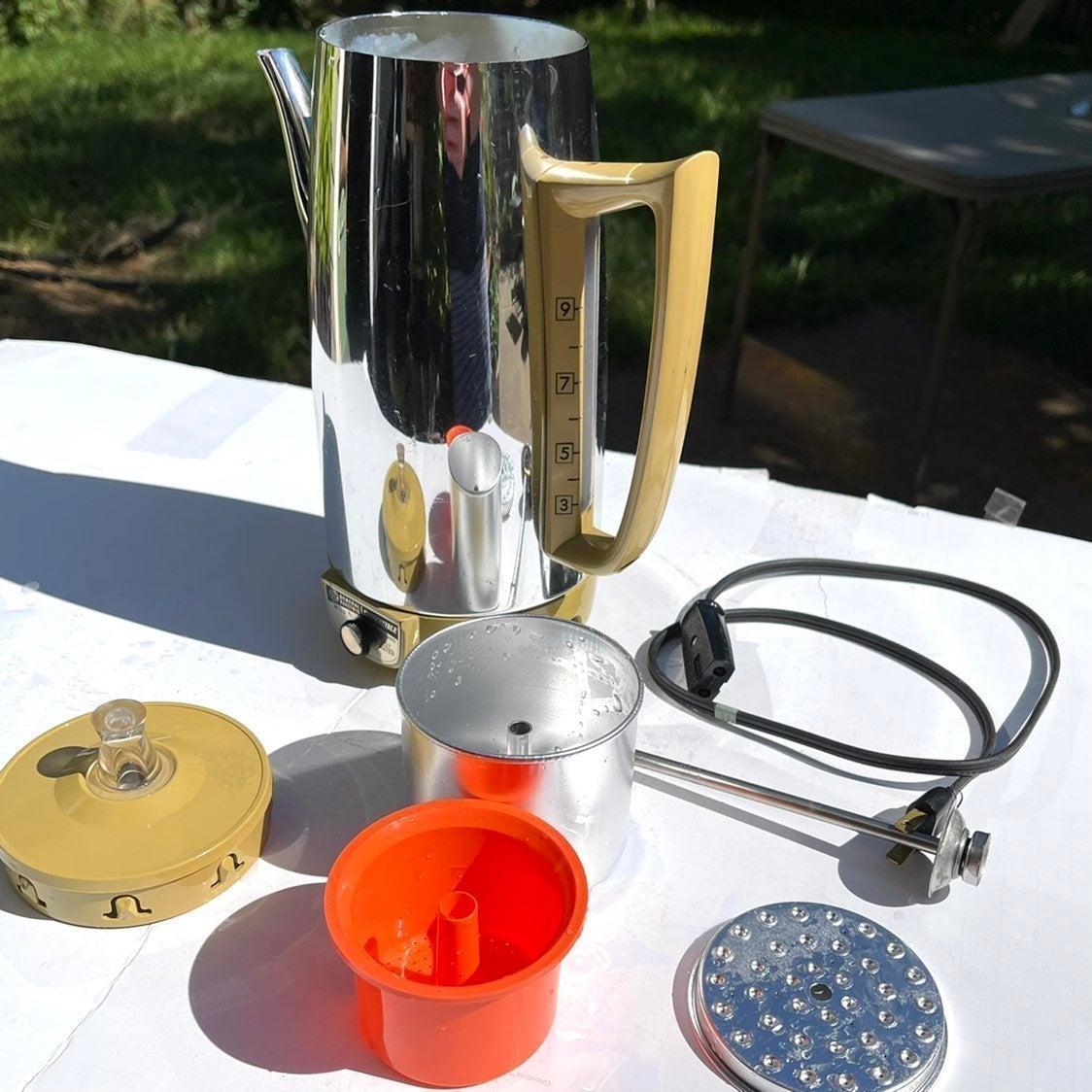 GE Electric Hot Water Percolator-vintage