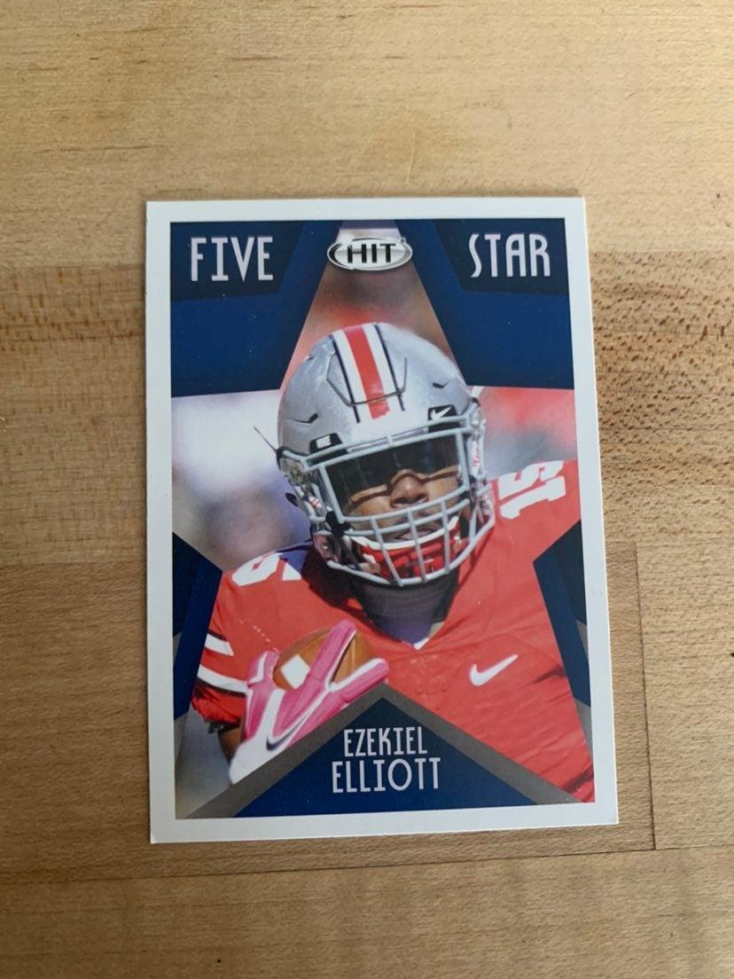 Ezekiel Elliott 2016 Sage Rookie Card