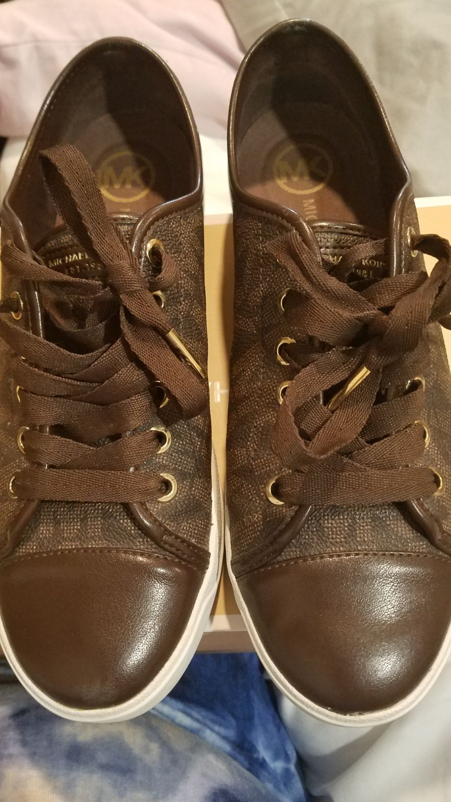 Michael Kors MK city sneakers size 8.5