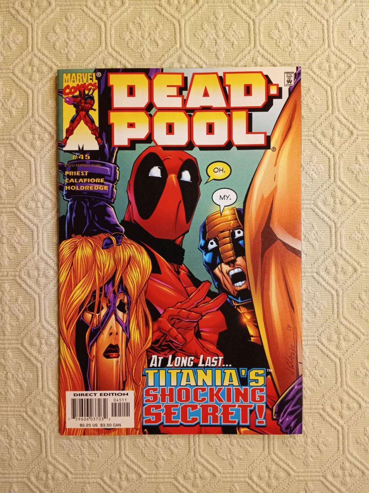Deadpool 45 comic NM+ Marvel