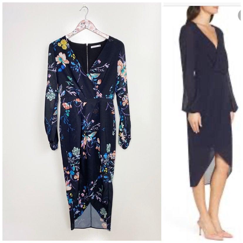 COOPER ST Black Floral Dress! 6