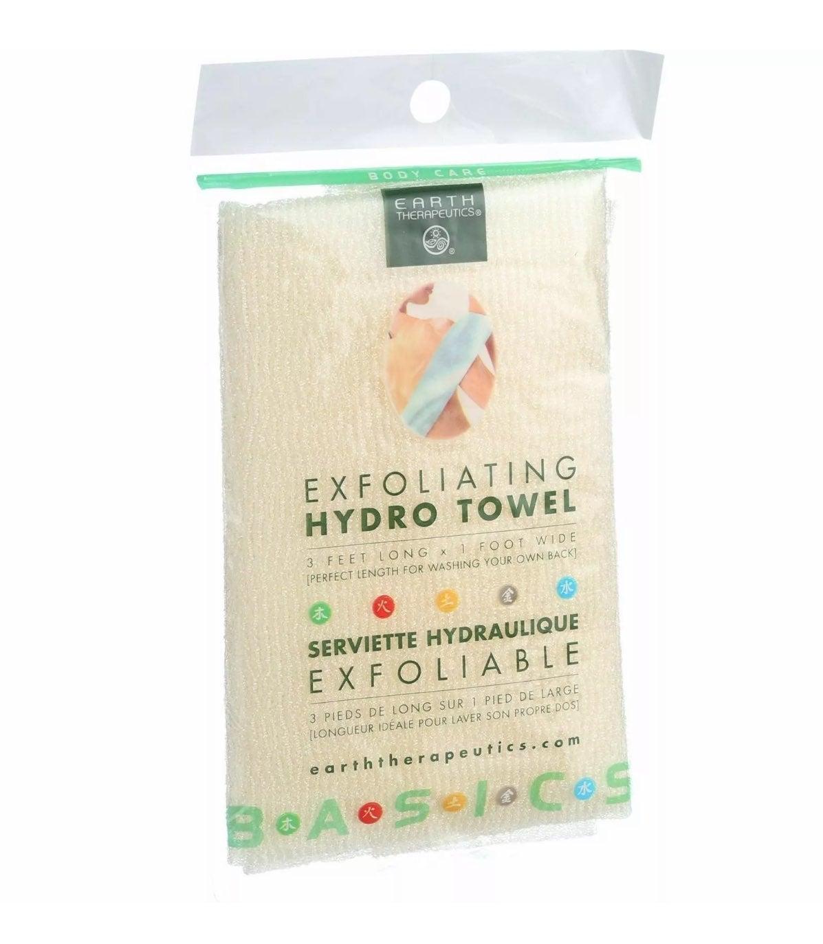 Exfoliating Body Towel Pink