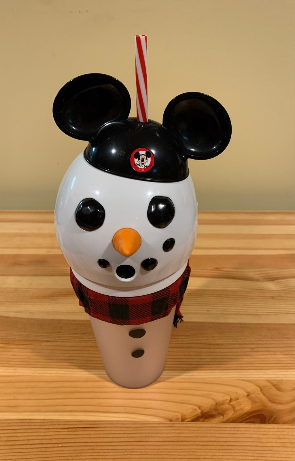 Mickey Mouse Snowman Light Up Tumbler