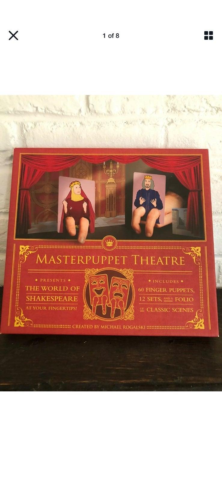 Masterpuppet Theatre The World of Shakes