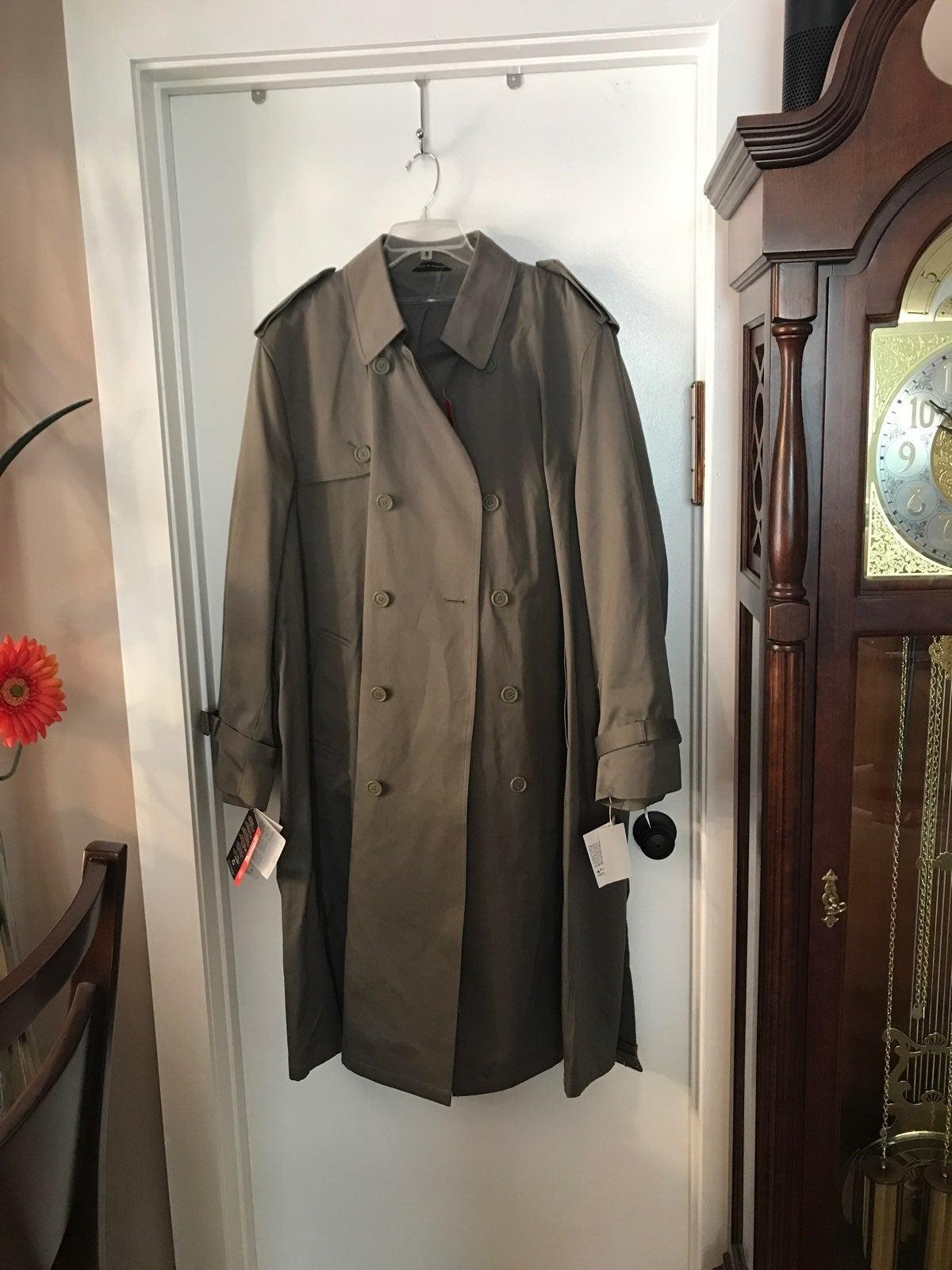 Oleg Cassini Men's Trench coat New wt