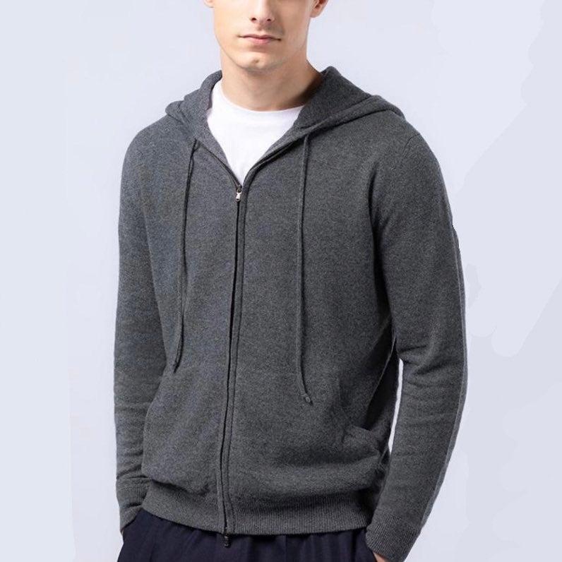 Bloomingdales Mens Store Cashmere Zip Up