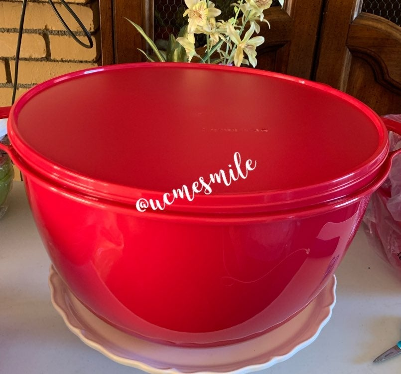 Tupperware Jumbo Thatsa Bowl