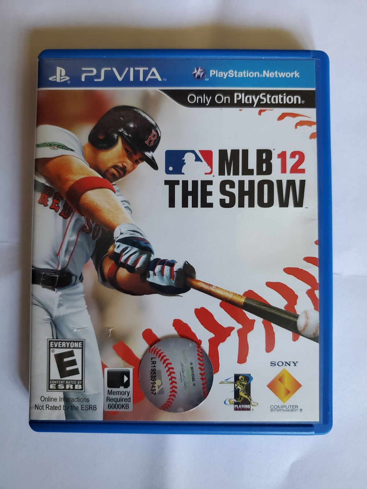 MLB 12 THE SHOW GAME FOR PS Vita