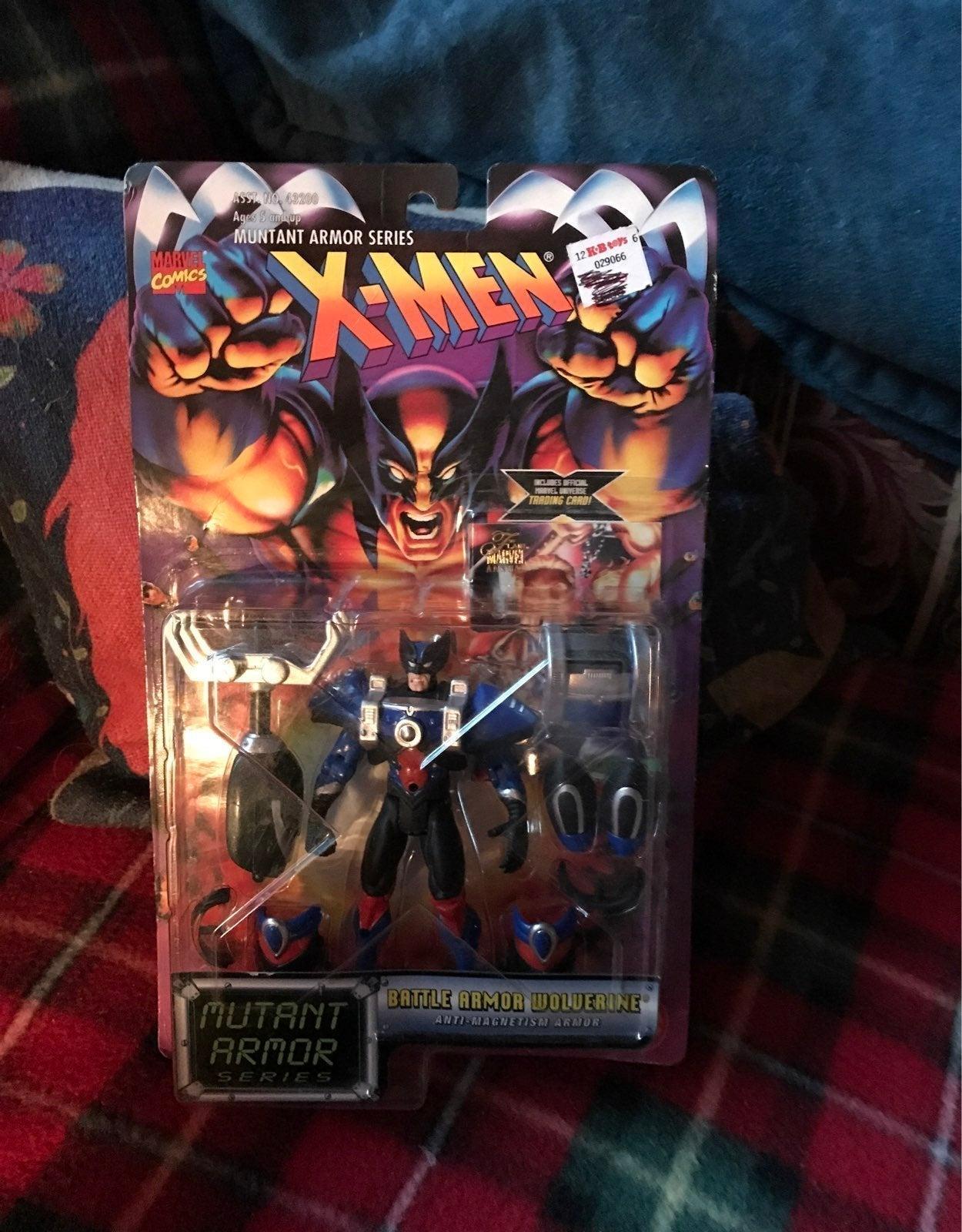 X-Men Battle Armor Wolverine Figure-New