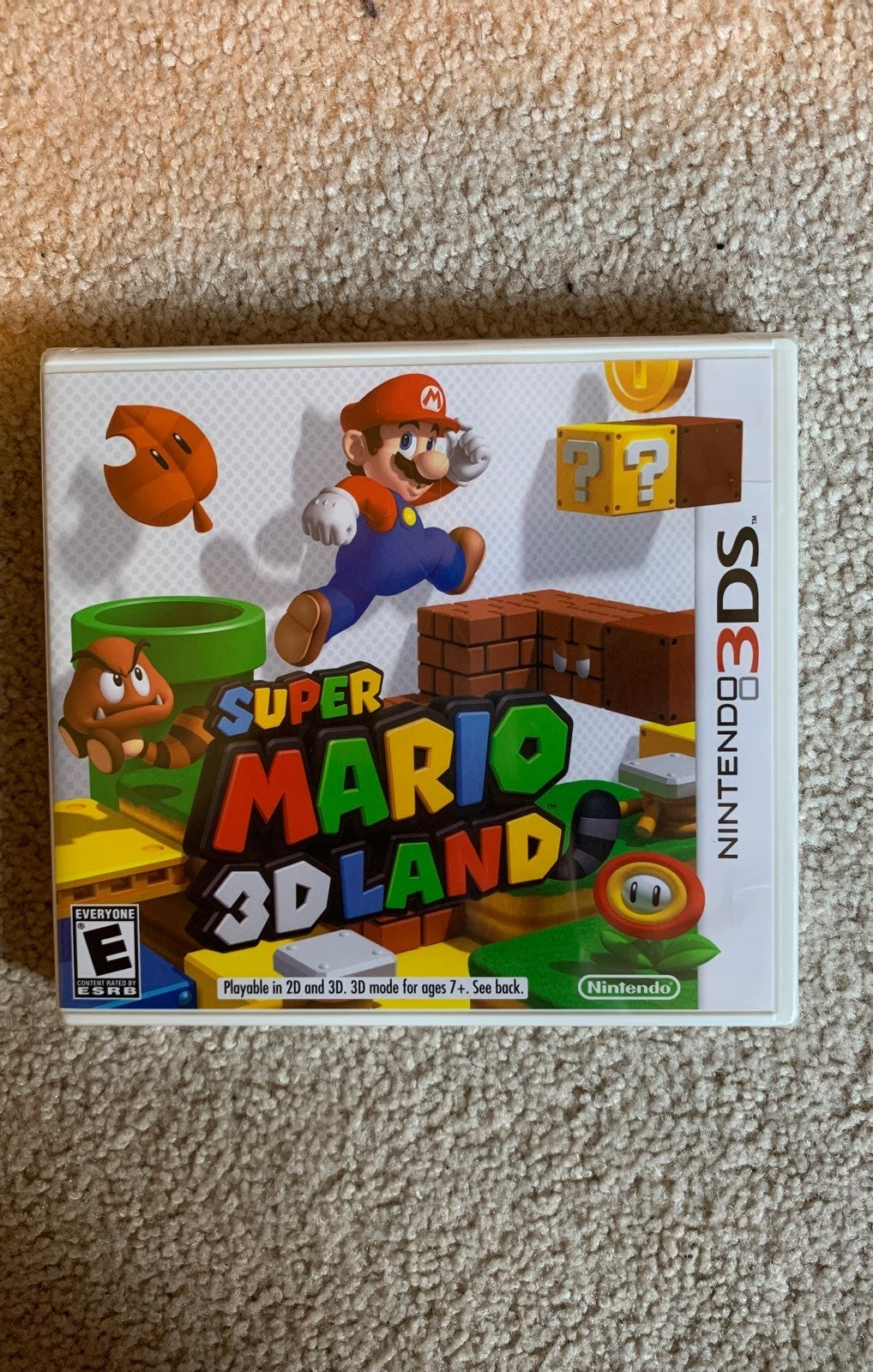Super Mario 3D Land 3DS (NEW SEALED)