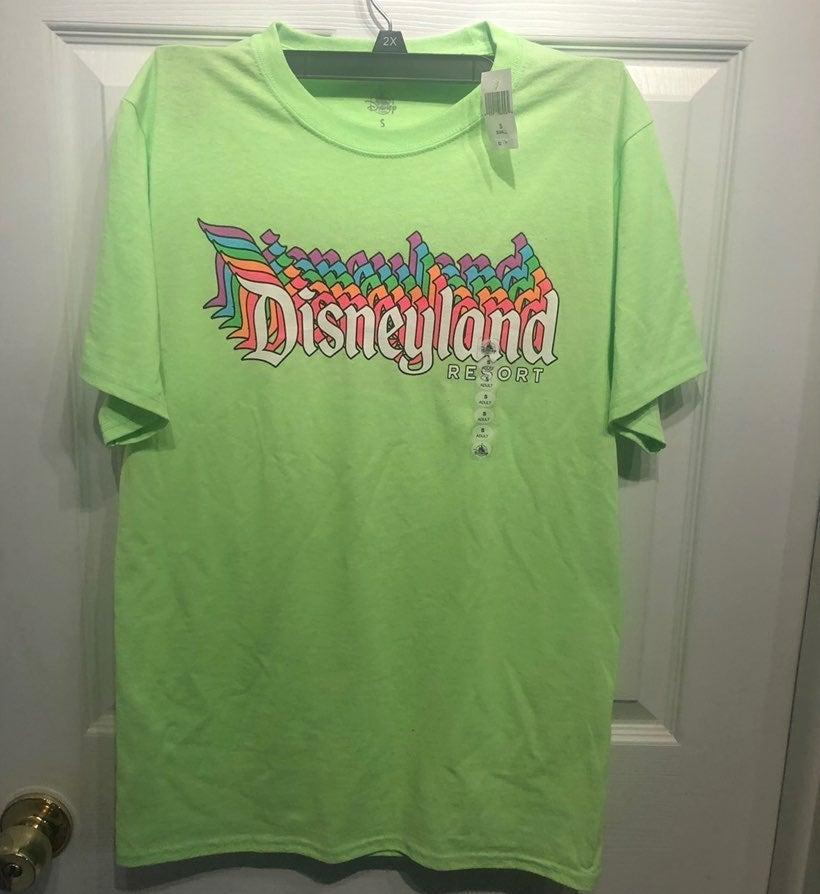 Disneyland Neon Shirt