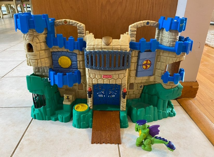 Imaginext Castle Fisher Price Fold & Go