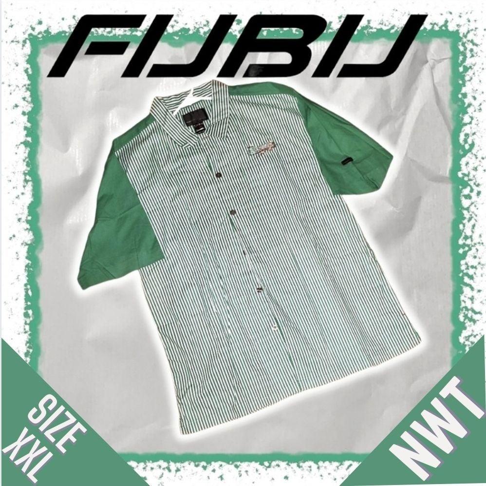 NWT Vintage Fubu Button Down Shirt