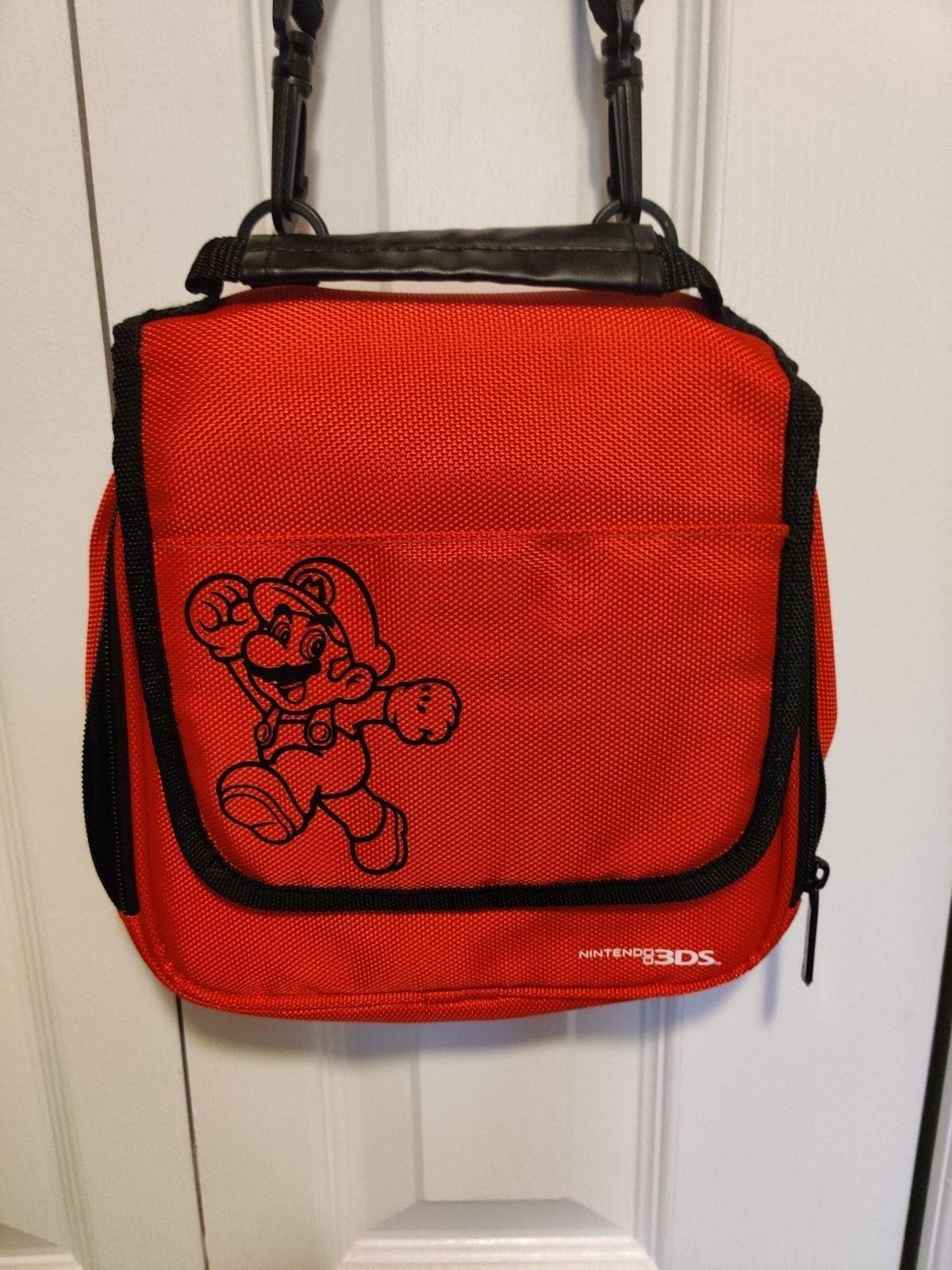 Mario Nintendo 3ds bag