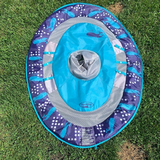 Baby spring pool float