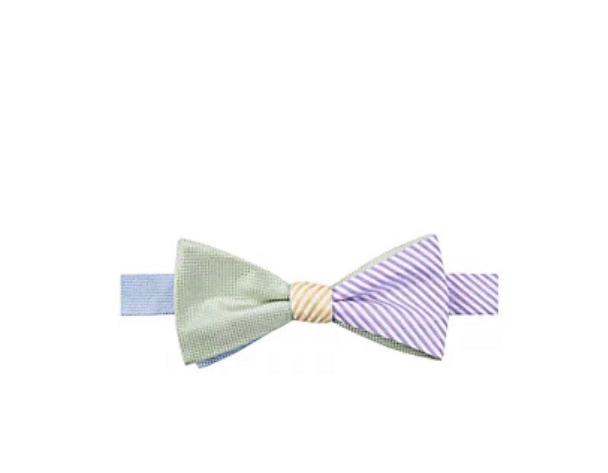 Saddlebred Reversible Pastel Bow Tie