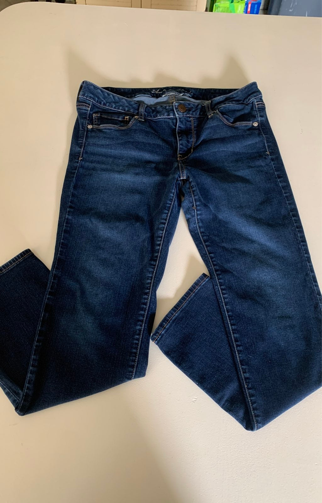 Womans AE american eagle Jeans side 14 s