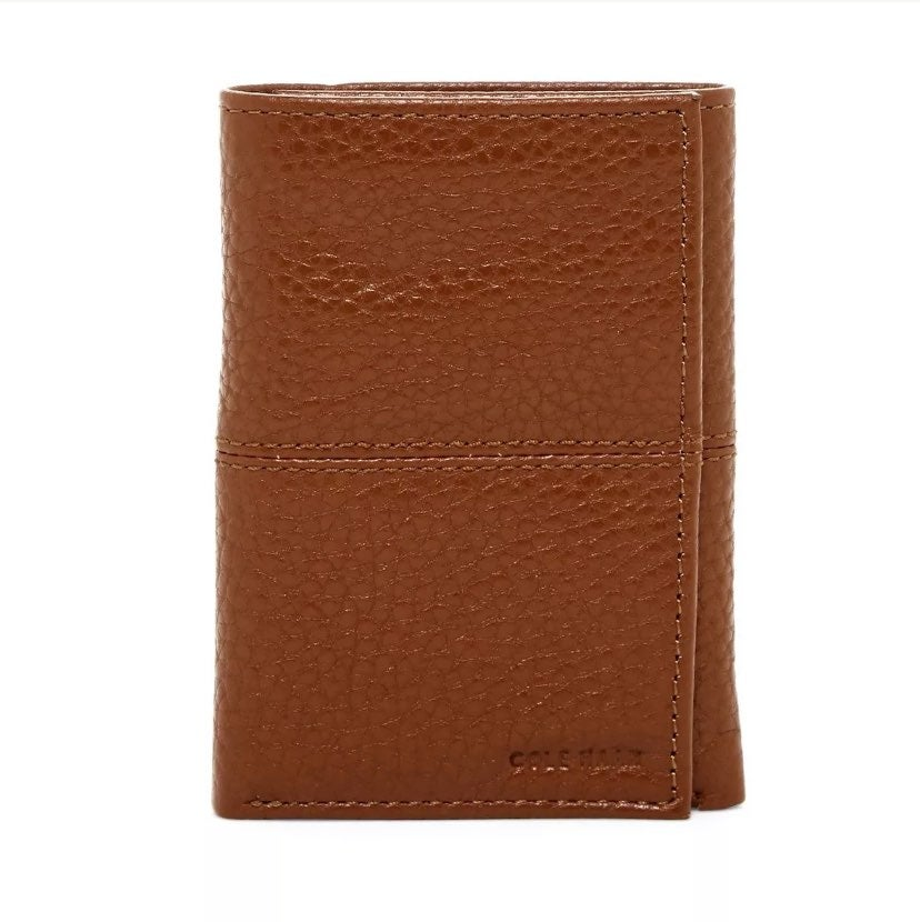 Cole Haan Pebble Leather Trifold Wallet