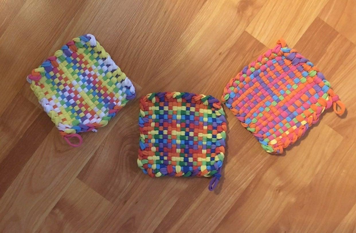 3 Handmade Pot Holders
