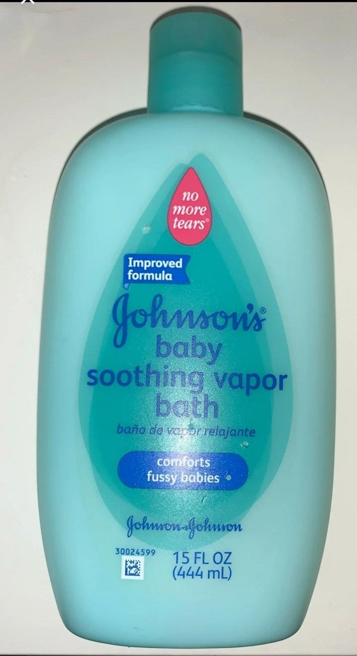 Johnsons Soothing Vapor Baby Bath