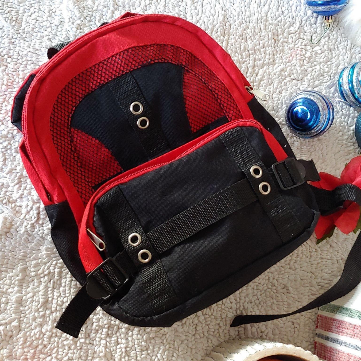 Red & Black Mini Backpack
