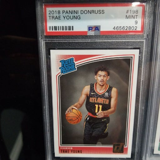 Trae Young RATED ROOKIE PSA 9 MINT