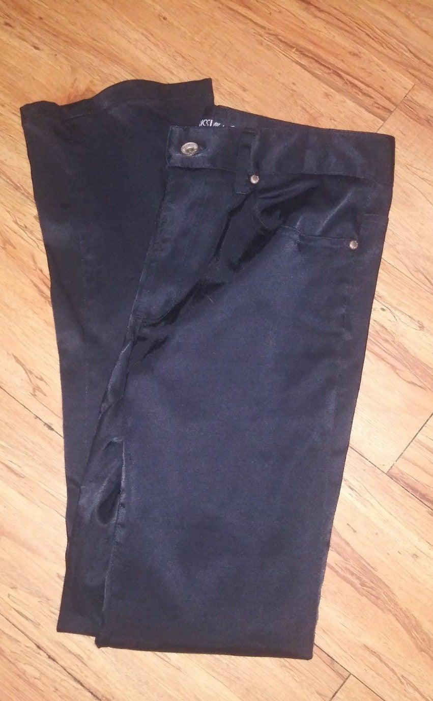 Z.Cavaricci Black Coated Pants 25
