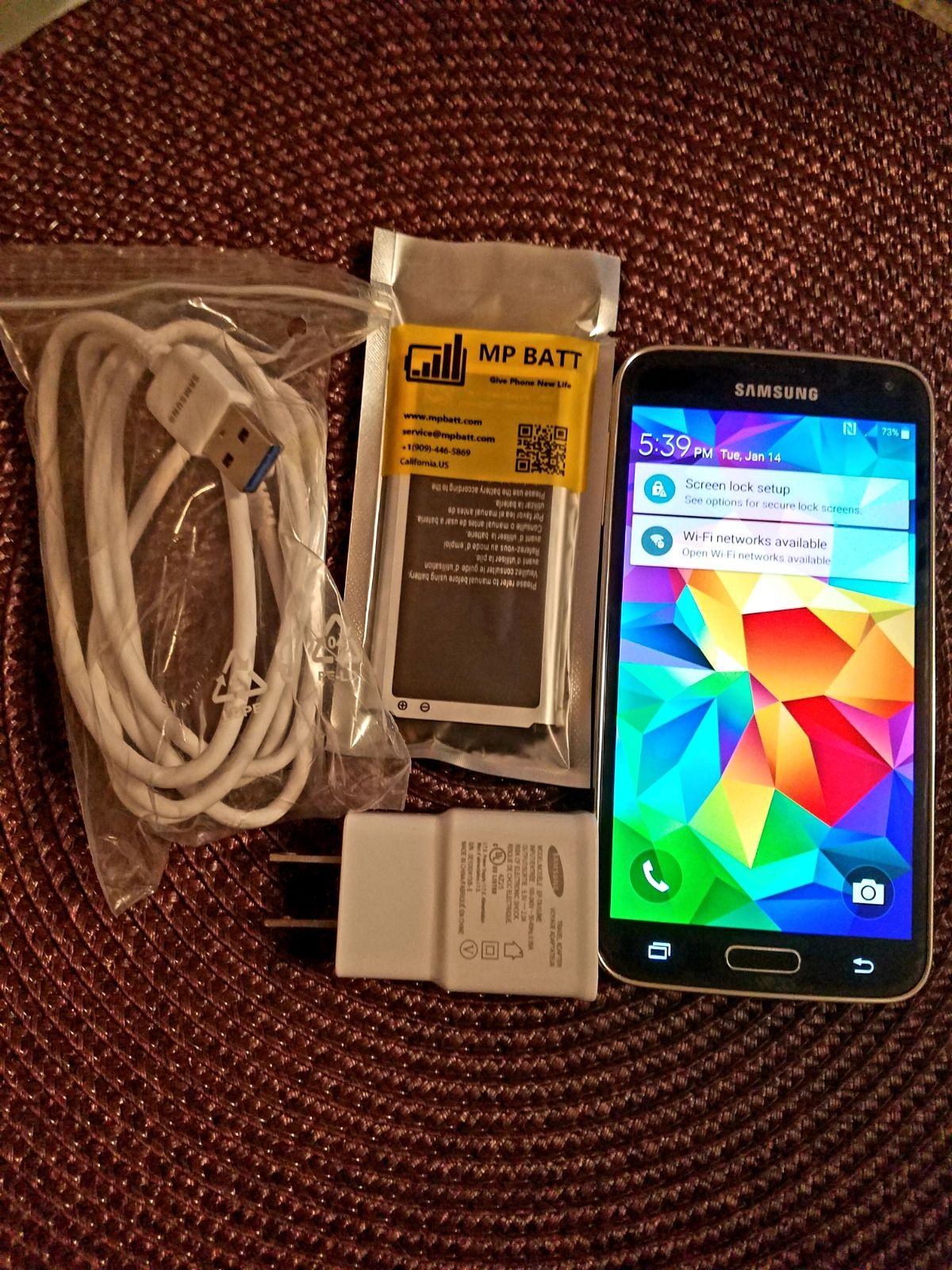 Samsung Galaxy S5 - -AT&T - USED