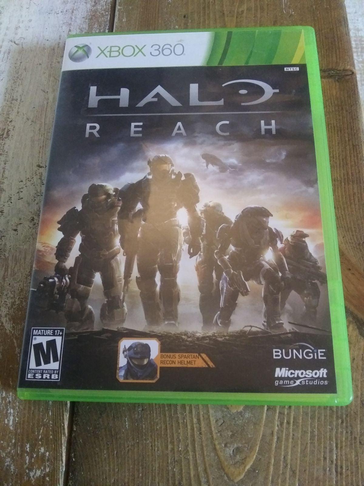 Halo Reach (Xbox 360) Working!