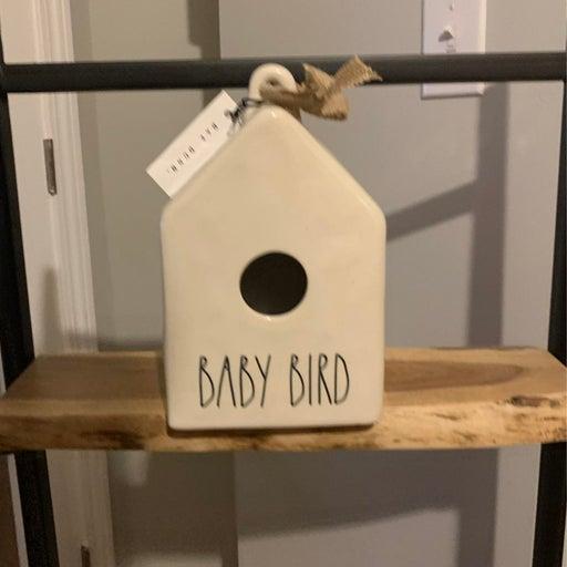 Rae Dunn Baby Bird Birdhouse