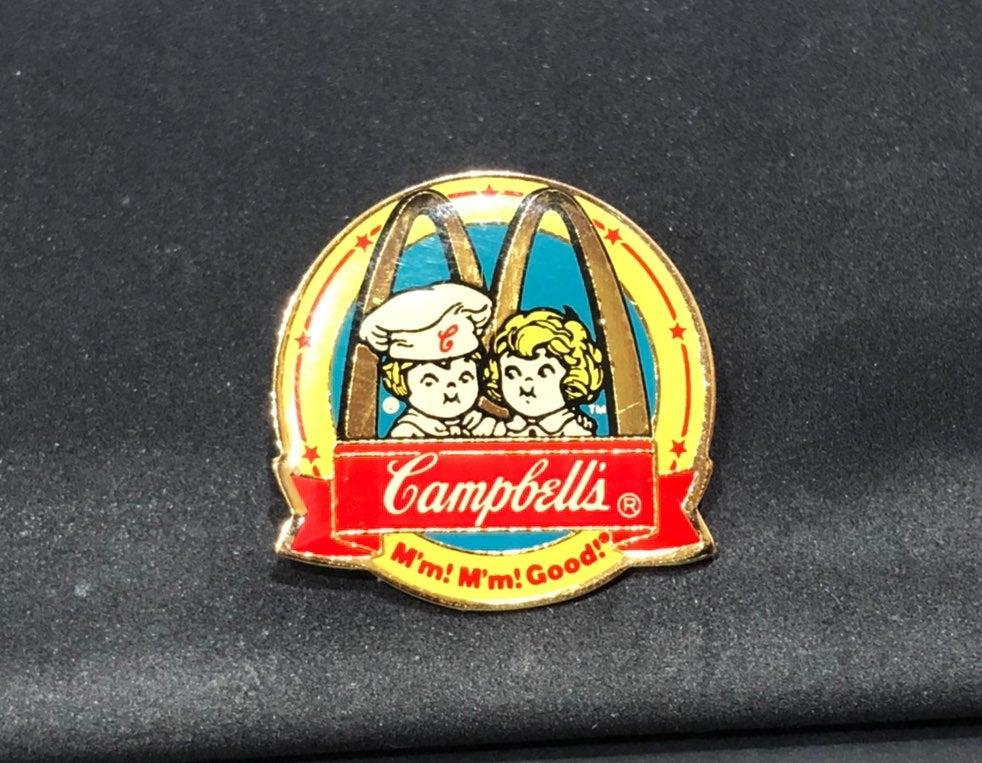 McDonald Hat / Lapel Pin - Campbells