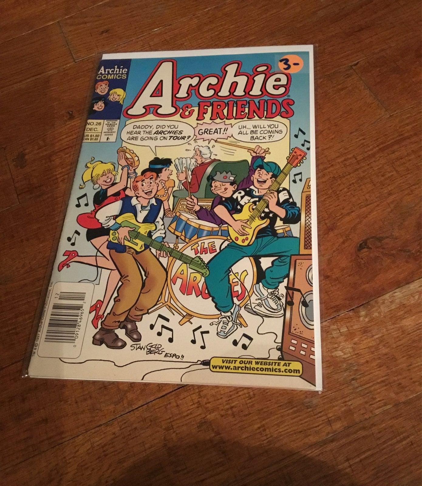 Archie & friends comic no. 26