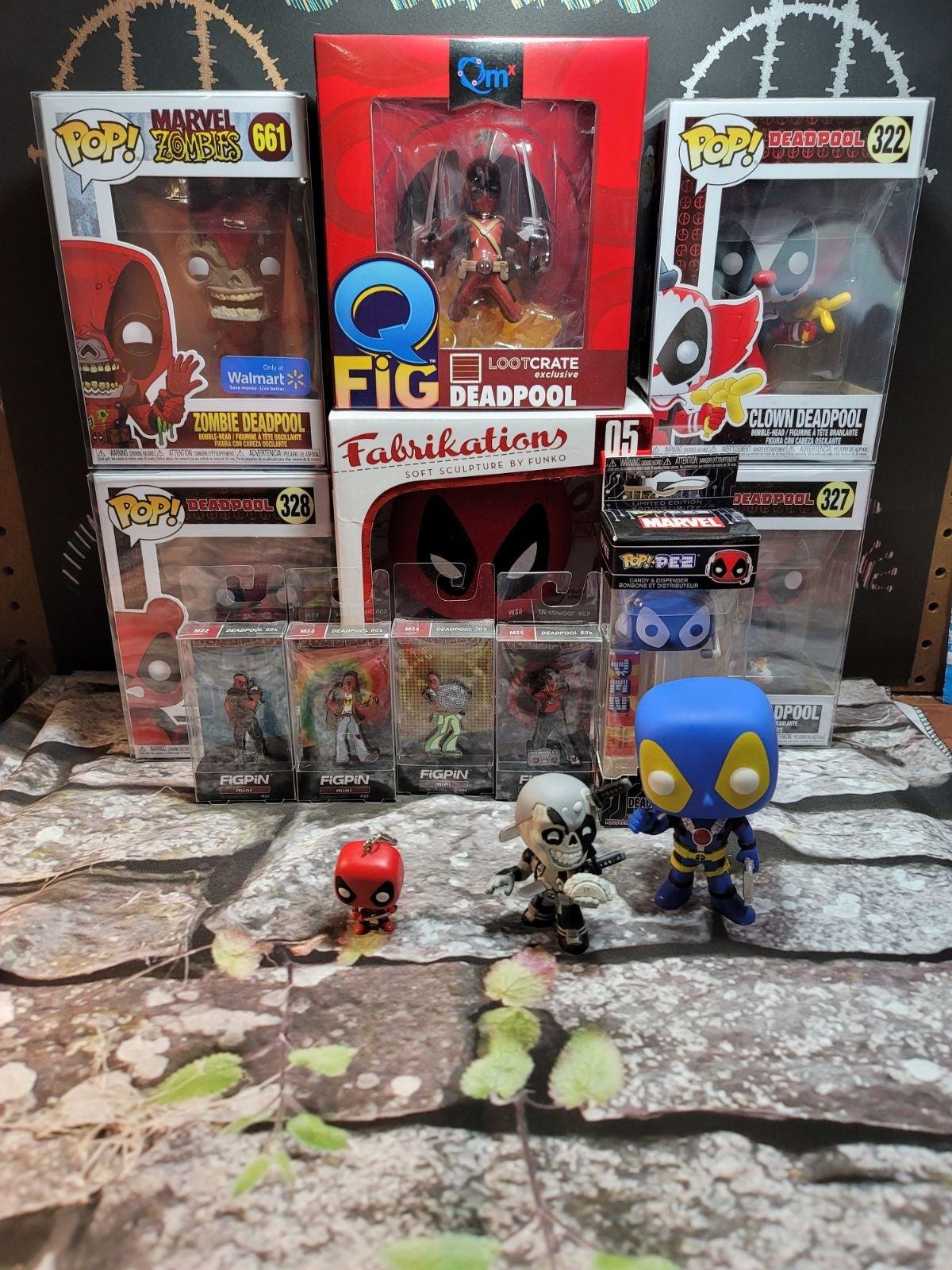 Deadpool Funko Pop Lot w/ EXTRAS