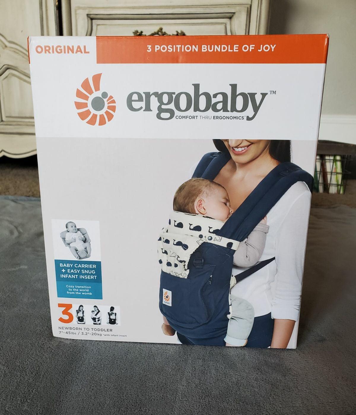 Ergobaby Orig. Carrier w/ Infant Insert