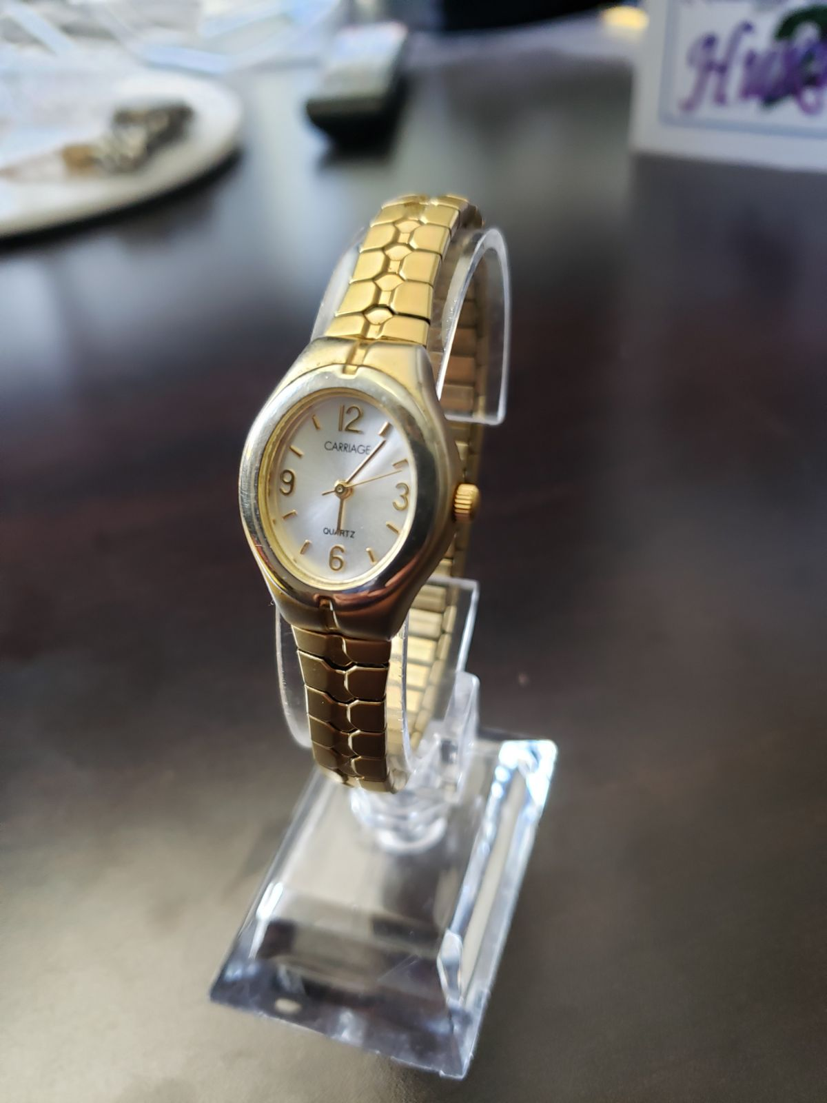 Timex fashion designed Carriage wristwat