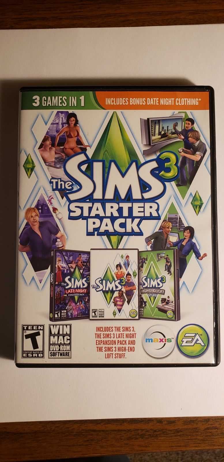 The Sims 3 Starter Pack for PC/Mac