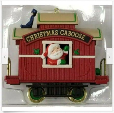 Hallmark Ornament Christmas Caboose H15