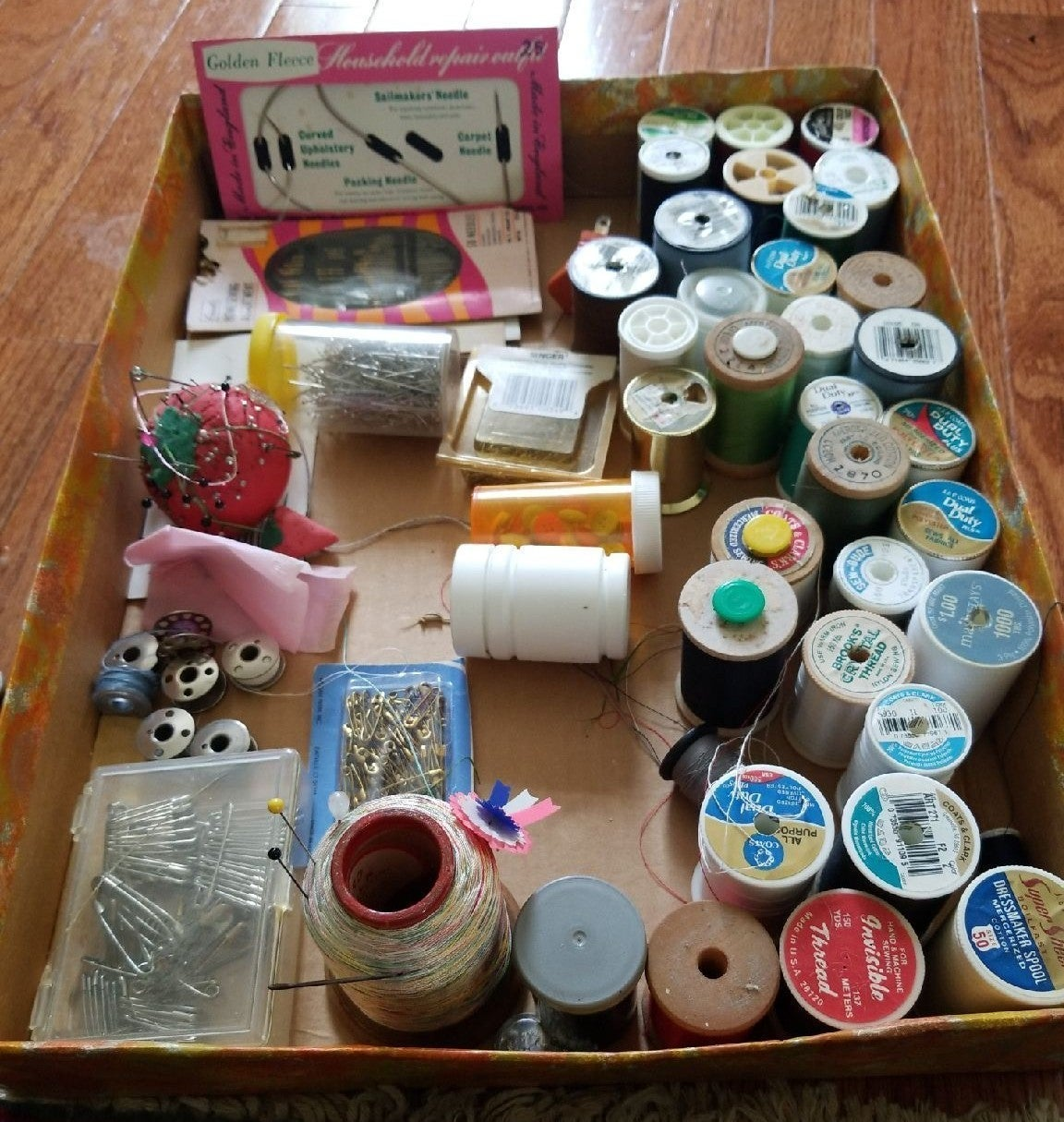 sewing thread from 98years seamstress.